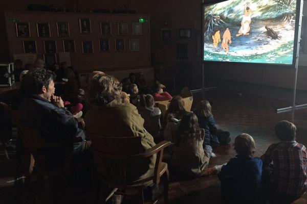 Screening of Watership Down at Wincanton Town Hall