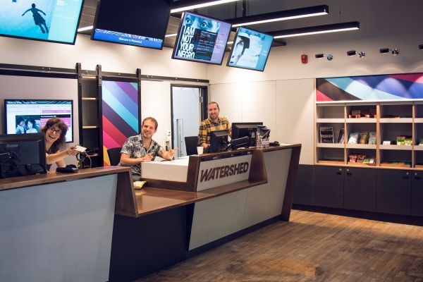 New box office at Watershed